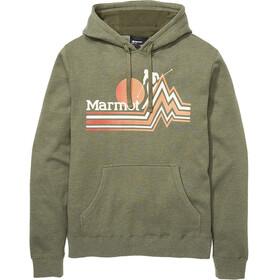 Marmot Piste Hoody Men nori heather